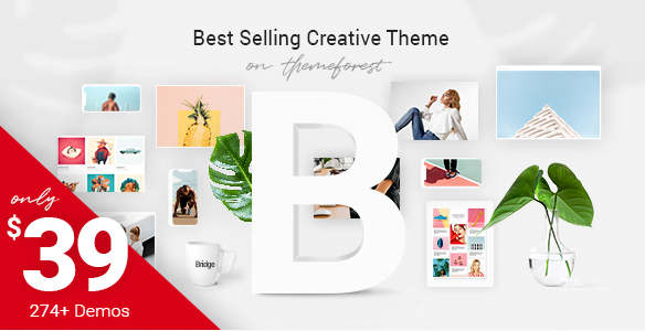 Bridge – Creative Multi-Purpose WordPress Theme