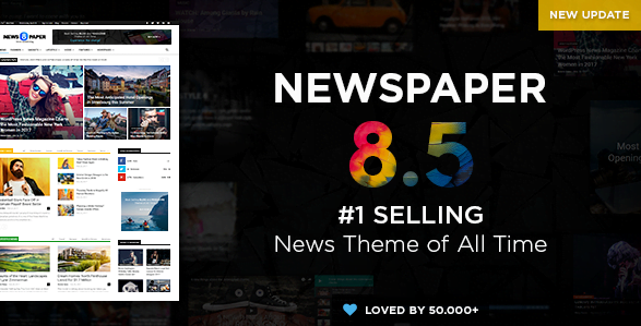 Screenshot_7 - Newspaper WordPress News Theme
