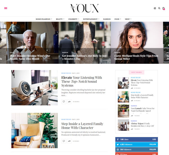 06 - 13 Fresh Minimalistic WordPress Blog Themes of 2019