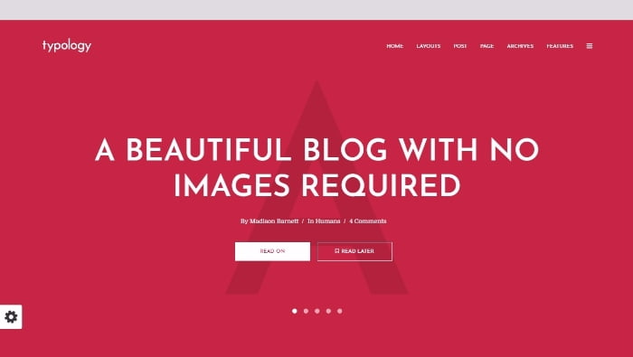 07 - 13 Fresh Minimalistic WordPress Blog Themes of 2018