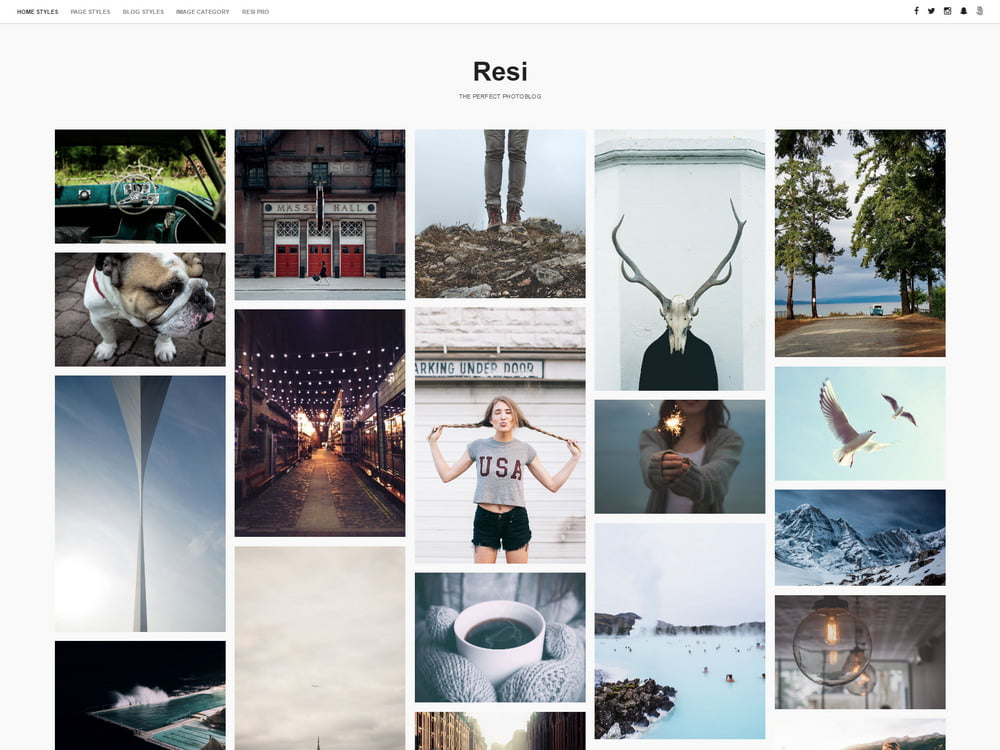 32 - 20 Free Minimalist WordPress Themes for Blogs, Portfolio Websites