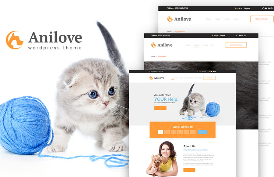 64141-big - 10 Marvelous Animals & Pets WordPress Themes