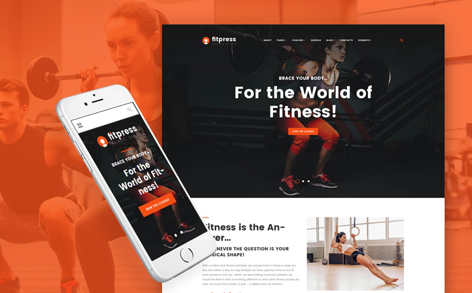 61153-big - 10 Sport & Healthy Lifestyle WordPress Themes