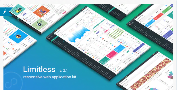 Limitless - 20+ BEST Free Bootstrap Admin Dashboard Themes [year]