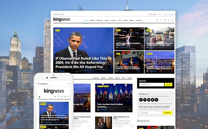 58404-big - 11+ Best Wordpress Themes for News Website [year]