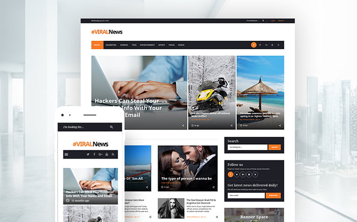 59037-big - 11+ Best Wordpress Themes for News Website [year]