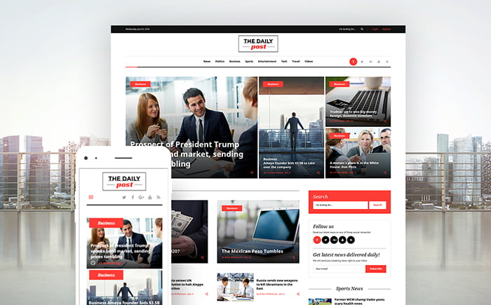 62121-big - 11+ Best Wordpress Themes for News Website [year]