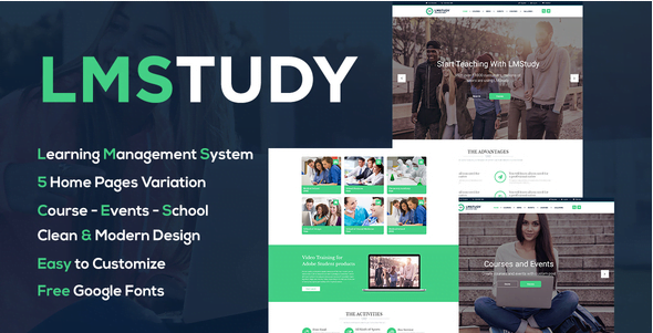 Screenshot_1 - 15+ Best Rated Education WordPress Themes