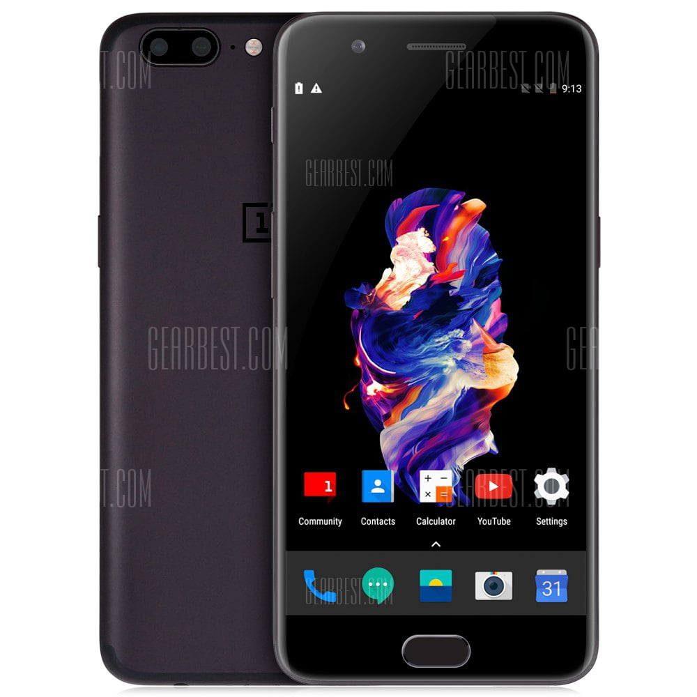 20170828093523_17900 - OnePlus 5 4G Phablet 5.5 inch - GRAY