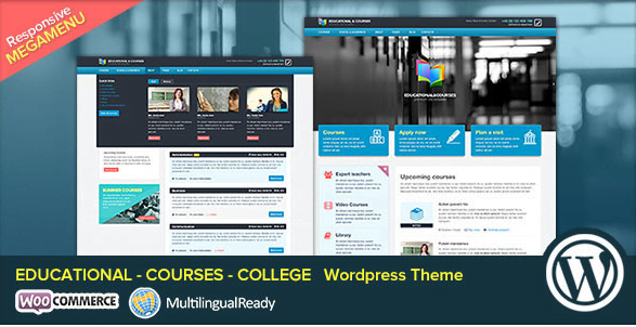 EDU-Educational-Courses-College-WP-Theme - 30+ Top Sales Education WordPress Themes [year]