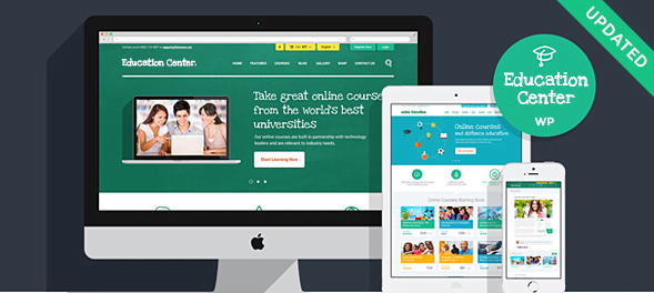 Education-Center-Training-Courses-WordPress-Theme - 30+ Top Sales Education WordPress Themes [year]