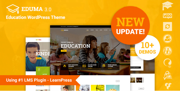 Education-WordPress-Theme-Education-WP - 30+ Top Sales Education WordPress Themes [year]