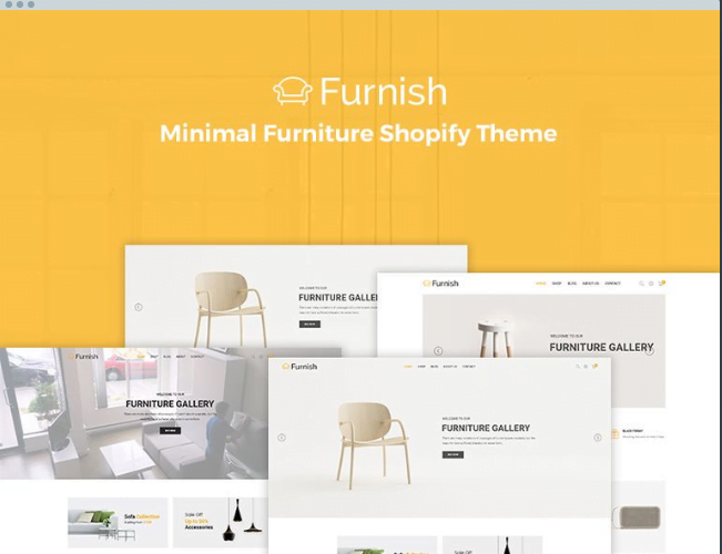 Furnish-Minimal-eCommerce-Furniture-Shopify-Theme-2 - 30+ Free & Paid Design & Photography Shopify Shopping Themes 2018