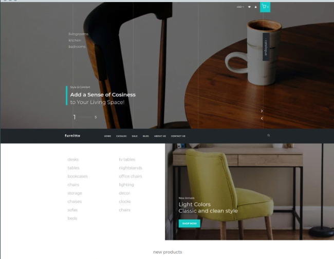 Furnitto-Furniture-Store-Shopify-Theme - 30+ Design & Photography Shopify Shopping Themes