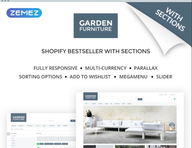 Garden-Furniture-Furniture-Interior-Design-Shopify-Theme - 30+ Free & Paid Design & Photography Shopify Shopping Themes 2018