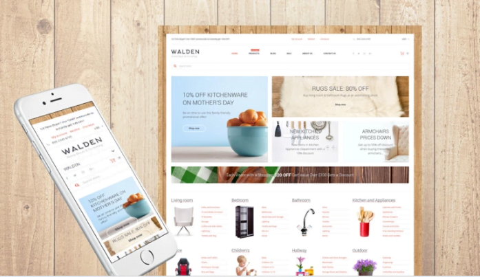 Home-Decor-Furnishing-Online-Supermarket-Shopify - 30+ Free & Paid Design & Photography Shopify Shopping Themes 2018