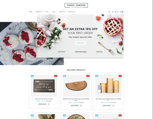 Home-Decor-Responsive-Shopify-Theme - 30+ Design & Photography Shopify Shopping Themes