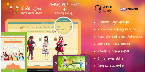 Kids-Zone-Children-Kids-WordPress-Theme - 30+ Top Sales Education WordPress Themes [year]