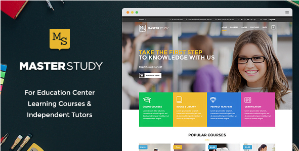 Masterstudy-Education-WordPress-Theme-for-Learning-Training-and-Education-Center - 30+ Top Sales Education WordPress Themes [year]