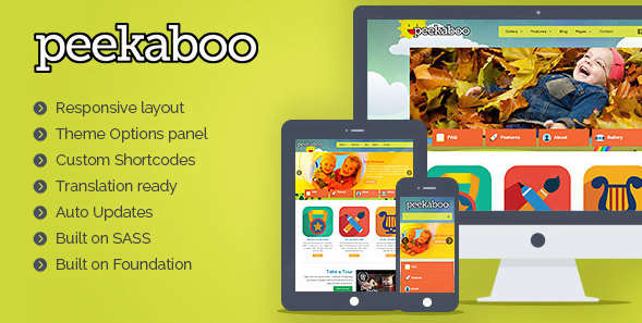 Peekaboo-Children-WordPress-Theme - 30+ Top Sales Education WordPress Themes [year]
