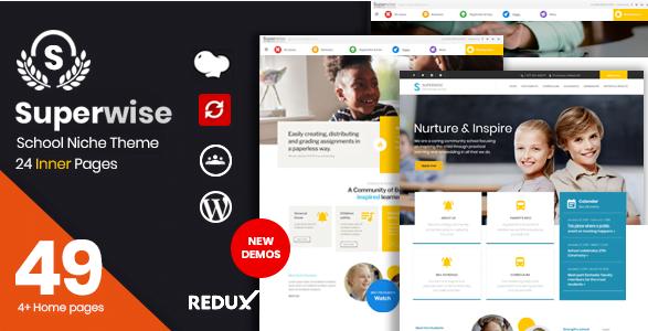 Screenshot_1 - 30+ Top Rating Education WordPress Themes 2018