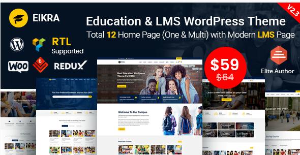 Screenshot_8 - 30+ Top Rating Education WordPress Themes 2018