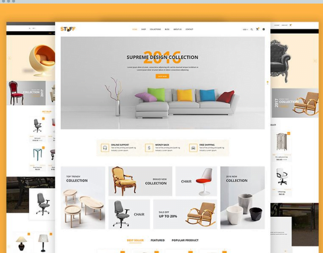 Stuff-Furniture-Shopify-Theme - 30+ Free & Paid Design & Photography Shopify Shopping Themes 2018