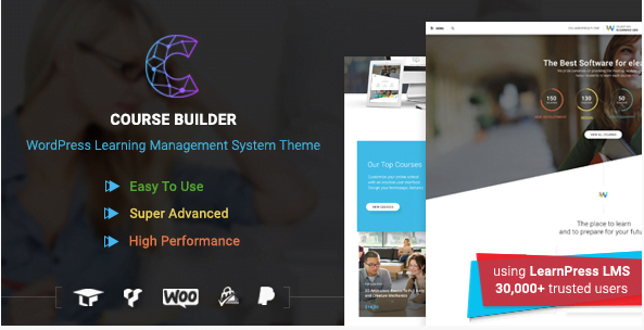 WordPress-LMS-Theme-for-Online-Courses-Schools-Education-Course-Builder - 30+ Top Sales Education WordPress Themes [year]