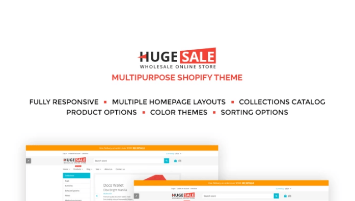Huge-Sale - Huge Sale Responsive Shopify Theme