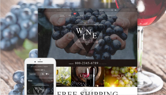 Wine-Wine-Shop-Responsive-Shopify-Theme - Wine Shop Responsive Shopify Theme