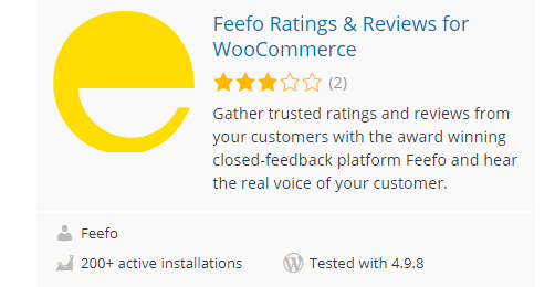 Feefo-Ratings-Reviews-for-WooCommerce - Top 30 Free WordPress Rating Plugins for Your Website