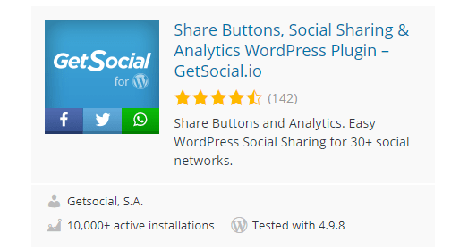 GetSocial.io_ - 30 Fantastic Free WordPress Social Share Plugins