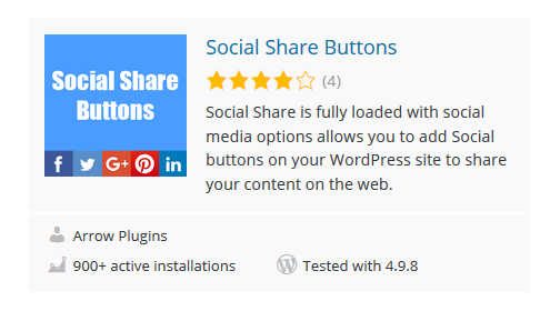 Social-Share-Buttons - 30 Fantastic Free WordPress Social Share Plugins