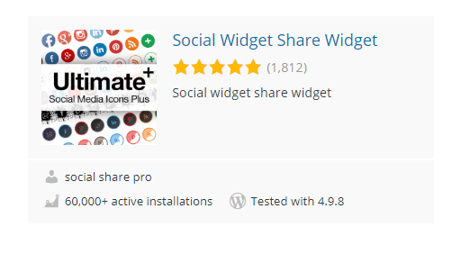 Social-Widget-Share - 30 Fantastic Free WordPress Social Share Plugins