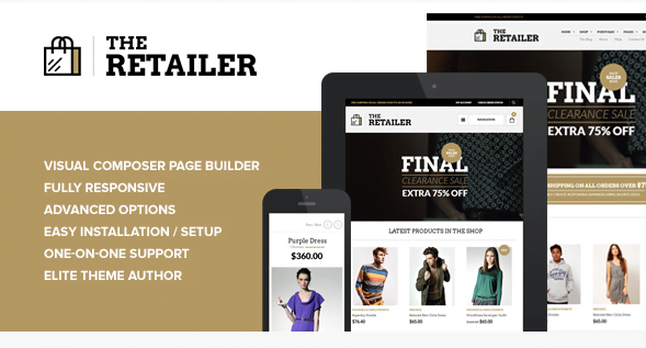 The-Retailer - The Retailer WooCommerce Shop Theme [year]