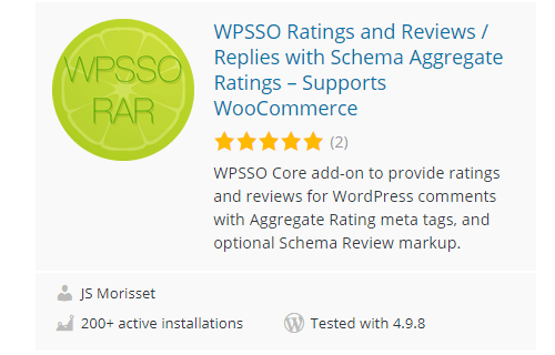 WPSSO - Top 30 Free WordPress Rating Plugins for Your Website