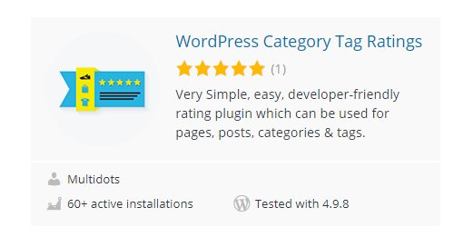 WordPress-Category-Tag-Ratings - Top 30 Free WordPress Rating Plugins for Your Website