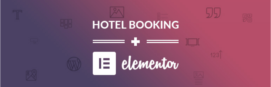 Hotel-Booking-Elementor-Integration - 9 Best Free WordPress Elementor Plugins Compared