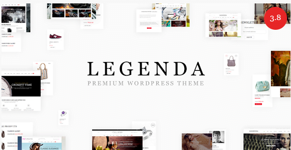 Legenda - Legenda Responsive MultiPurpose WordPress Shop Theme