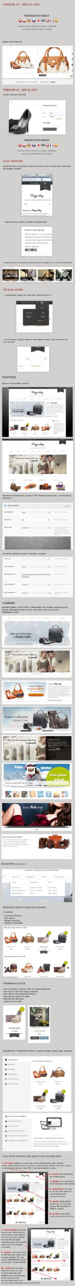 MayaShop2 - MayaShop Responsive e-Commerce Shop Theme