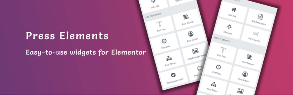 Press-Elements - 9 Best Free WordPress Elementor Plugins Compared