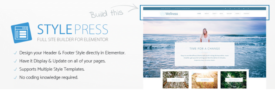 StylePress-for-Elementor - 9 Best Free WordPress Elementor Plugins Compared