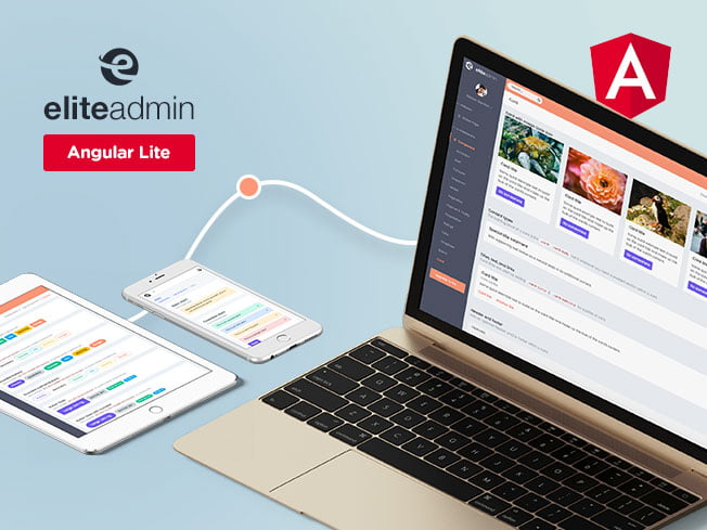 elite-angular-lite-thumb - 17 Free Bootstrap Responsive Admin Theme