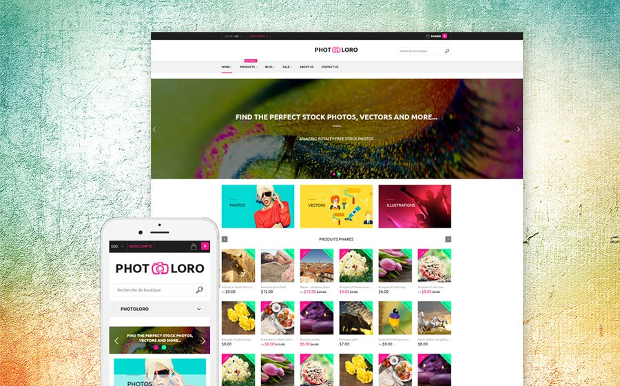 Stock-Photo - Best 10 Shopify Themes For Arts And Photography Websites