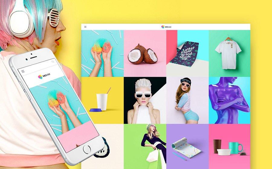 VicHax - 15 Blogging WordPress Themes to Start a New Blog