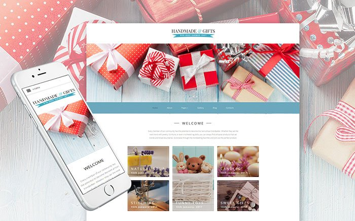 Inspiring-Christmas-Hauls-Joomla-Theme - Bring Joy to Your Clients with 20 Inspiring Holiday & Gifts Templates [year]