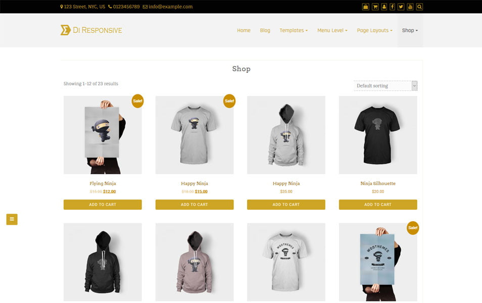 Best-eCommerce - 110+ Best Free ECommerce WordPress Themes 2019