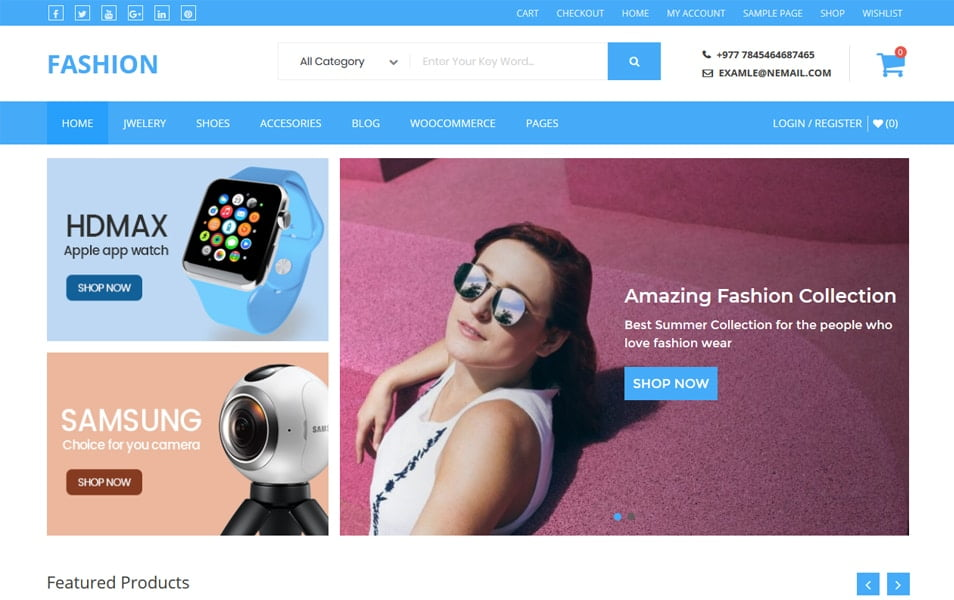 Buzstores - 110+ Best Free ECommerce WordPress Themes 2019
