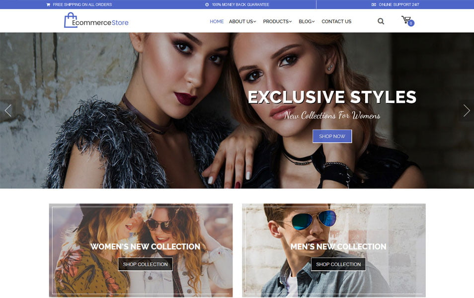 Multipurpose-Ecommerce - 110+ Best Free ECommerce WordPress Themes 2019