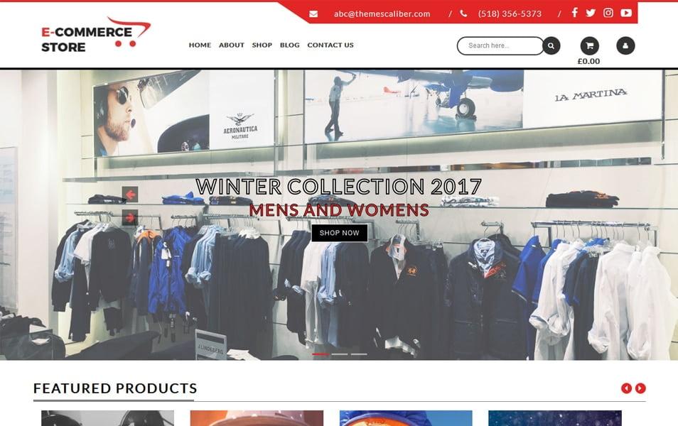 TC-E-Commerce-Shop - 110+ Best Free ECommerce WordPress Themes 2019